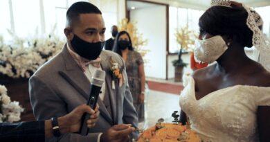 De las calles al altar, Chanthal y José tienen su boda religiosa